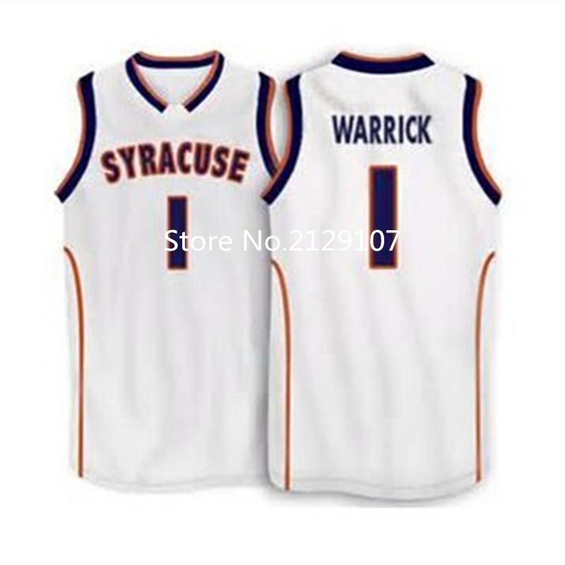 #1 Hakim Warrick 2005 Syracuse Orange Basketball Jersey Throwback College Stitched Jerseys Customized Any Name And Number(China (Mainland))