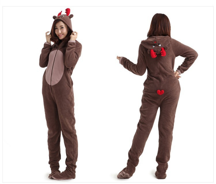 Online Get Cheap Adult Onesie Footed Pajamas -Aliexpress.com ...