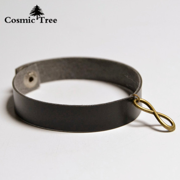 AliExpress Popular Models Ancient Bronze Alloy 8 Word Buckle Retro Leather Bracelet Turkey the Easiest Fashion Trend Jewelry(China (Mainland))