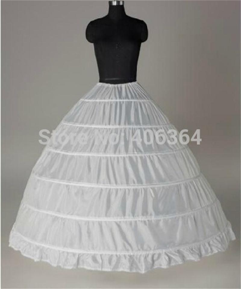 Buy free shipping high quality white 6 for Wedding dress hoops for sale
