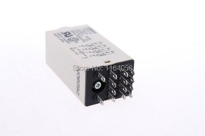1 x H3Y-4 DC12V 5A 5Sec 5S Omron Timer Relay 4PDT 14 PIN(China (Mainland))