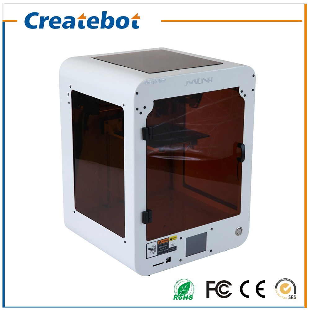 2016 Latest 3D Printer High Precision Createbot Desktop Dual Extruder MINI 3D Printer kit Touchscreen and