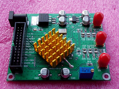 Free Shipping Electronic competition module AD9854 module DDS module Signal generator Band filter(China (Mainland))