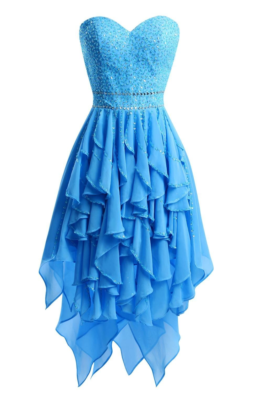 short cockttail dress elegant beaded cap sleeve turquoise