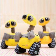 10Piece/Lot 28CM 2015 Cute Cartoon Robot Wall Plush Toys Soft Christmas Gift B9622
