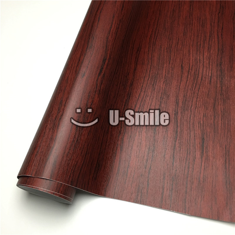 Pvc Wood Furniture ~ Rosewood wood vinyl wrap film sticker pvc