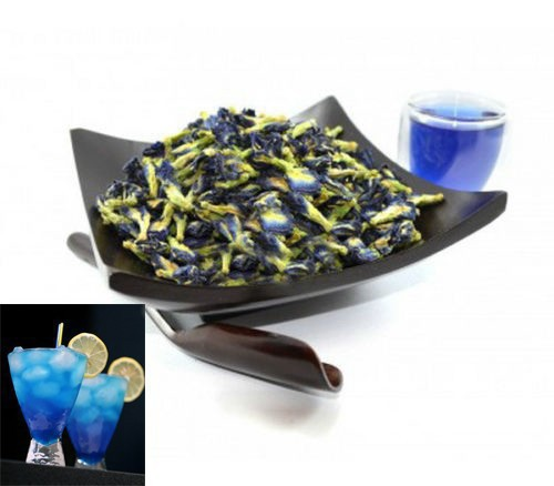 Dried Clitoria Ternatea Butterfly Pea 100g Thailand Blue Tea Beauty Care Tea Flower Tea Herbal Tea