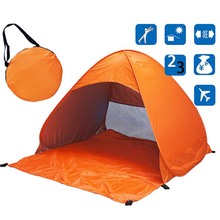 Buy Portable Outdoor Camping Beach Picnic Pad Cushion Canopy Automatic camping tent beach shade SS for $26.50 in AliExpress store