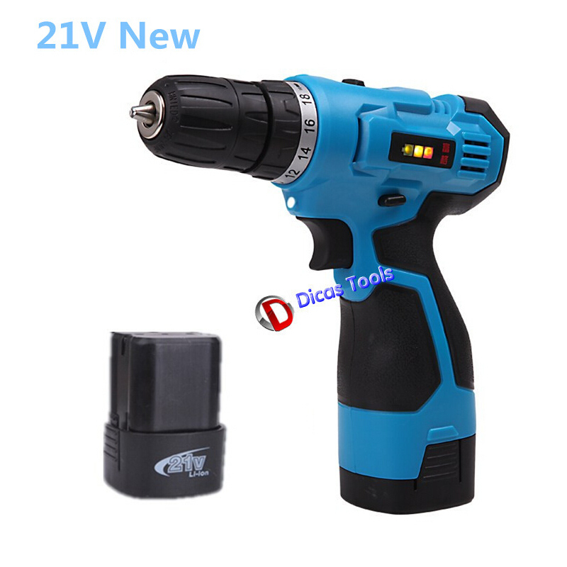 product Household electric screwdriver multi-function 18v 2*Battery electric drill tools
