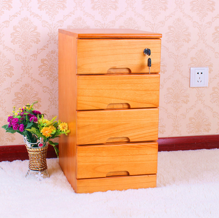 lockable wood filing cabinet 2