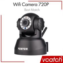 Vcatch Wifi IP Camera 720p Wireless Mini CCTV P2P Camera Baby Monitor Security P/T Micro TF Card Camera Free IOS & Android APP