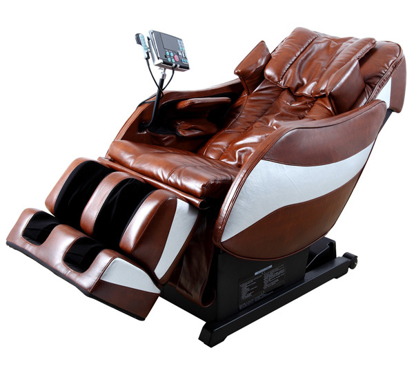 3D Roller Mechanism Design Zero Gravity Massage Chair with MP3/MP4/AV/DVD/VCD Device (Color Brown Red)(China (Mainland))