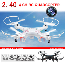 Big Quadcopter 2.4G 4CH 6-Axis Upgrade Toys RC Helicopters professional Drones with Camera HD fpv Quadrocopter Dron VS syma x5c