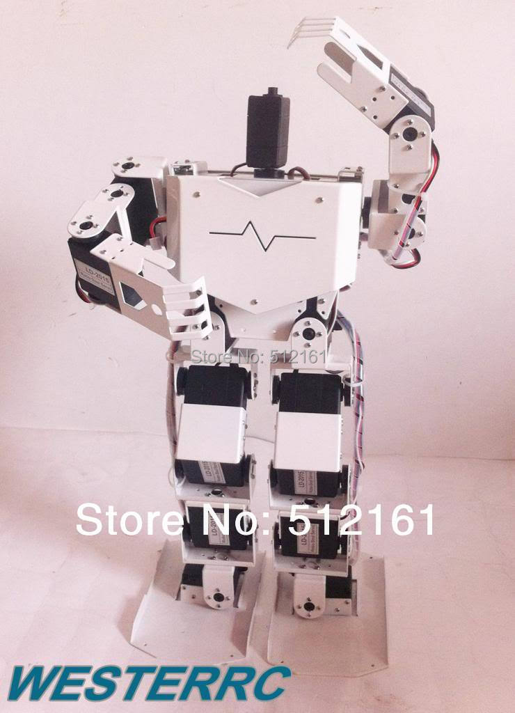 2014 New 17 DOF Humanoid Robot All in One Robot-Soul H3.0 Contest Dance Robot Arduino(China (Mainland))