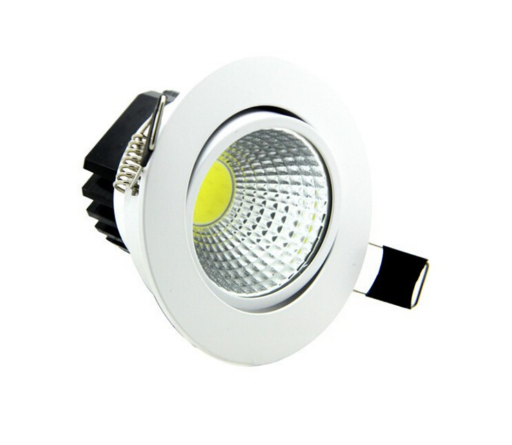 Wholesale price Dimmable LED Downlight COB7W 10W 12W 15W Dimming Spot Light Ceiling Recessed Lamp Lighting AC85-265V CE ROHS(China (Mainland))