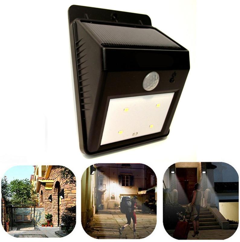 6 led solar light outdoor garden light solar energy for Solar powered patio lights