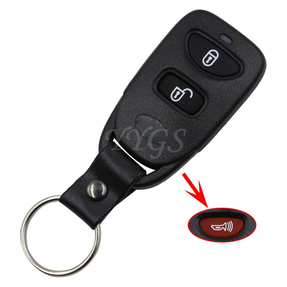 Brand New Remote Key Shell Control Fob Case 2 +1 Panic For Hyundai Tucson Elantra Accent SANTA FE 3 Buttons(China (Mainland))