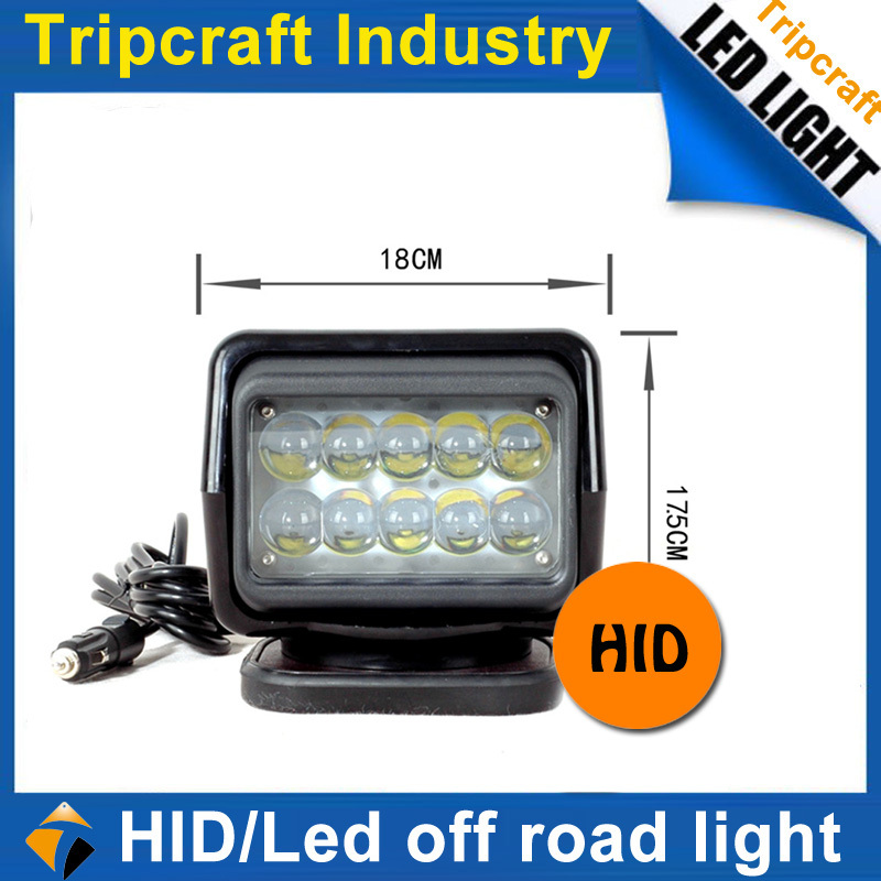 SMALL ORDER ACCEPTED! 3750Lum ip65 50W LED SEARCH LIGHT Led Work Light 12-24VDC 50W Super Bright LED work lights for all trucks