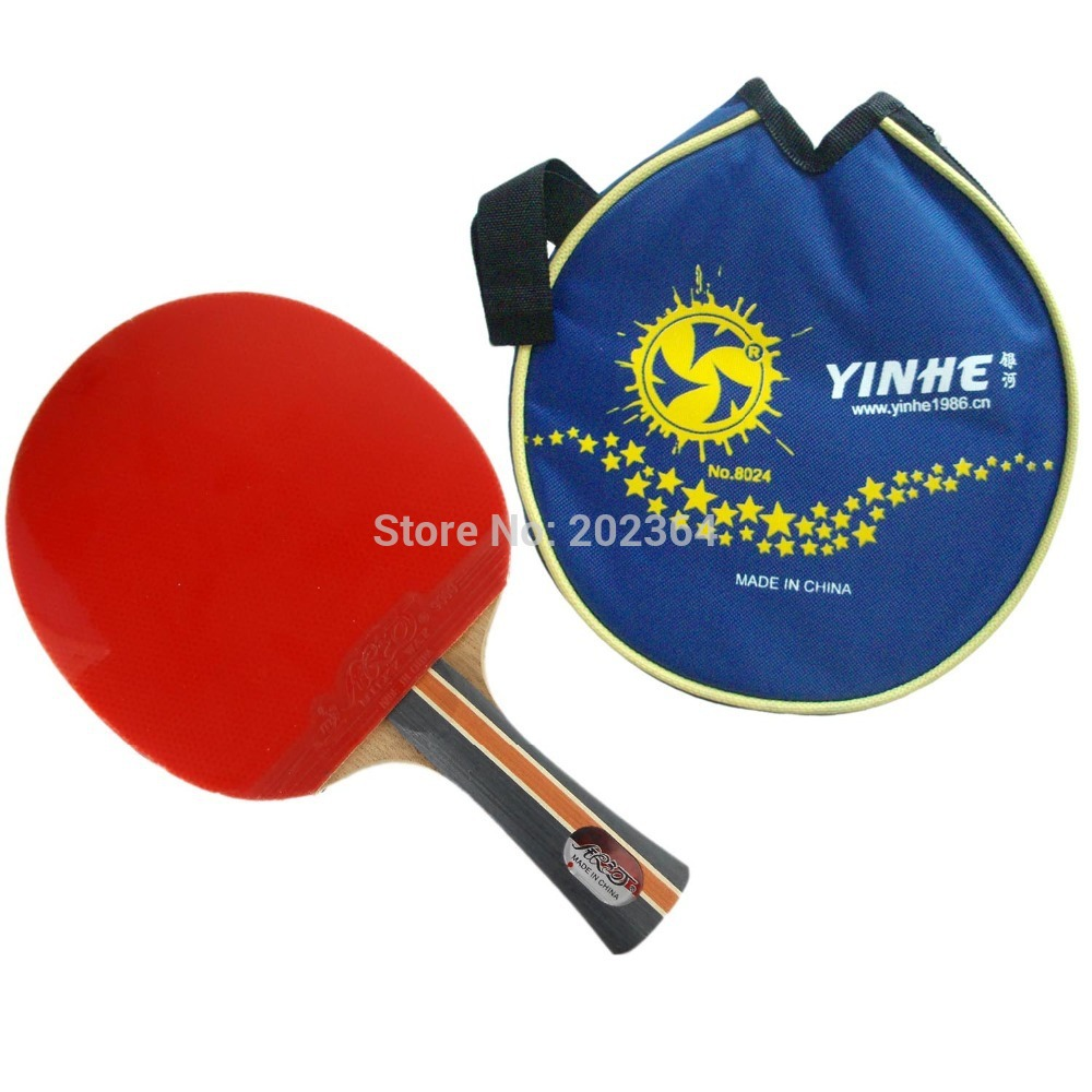 Galaxy / Milky Way / Yinhe 04B (04 B, 04-B) Pips-In Table Tennis Racket (Shakehand) with Case for Ping Pong low price(China (Mainland))
