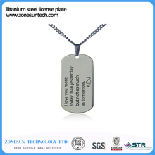 10 Customized Engraved Letter Photo Printed Dog Tags for Men Personalized Pendant Necklace Jewelry Accessories(China (Mainland))