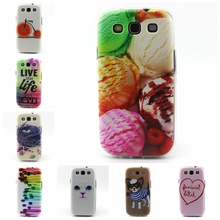 for samsung galaxy S3 GT-i9300 Neo i9300i i9301i S4 S5 S6 Soft Rubber Art Pattern Back Case TPU Back Cover Transparent Trim(China (Mainland))