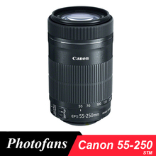 Buy Canon 55-250 STM Lens Canon EF-S 55-250mm f/4-5.6 IS STM Lenses 650D 700D 750D 760D 1200D 1300D T3i T6 T5i T5 60D 70D 80D for $245.00 in AliExpress store