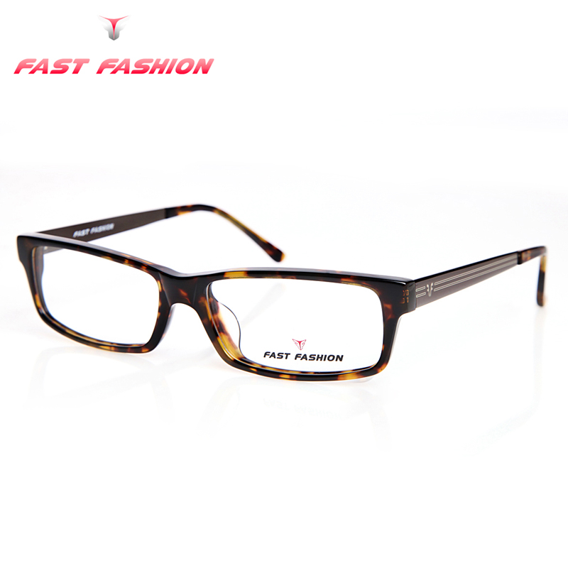 fast fashion glasses frame for men leopard designer women reading gaming optical eyeglasses eyewear frames fit