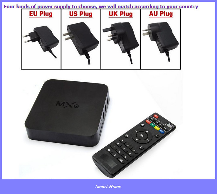 TV box Amlogic S805 Quad Core Google Android 4.4 Kitkat 1GB 8GB Support H.265 Smart Media Player Android Tv Box free shippinng(China (Mainland))