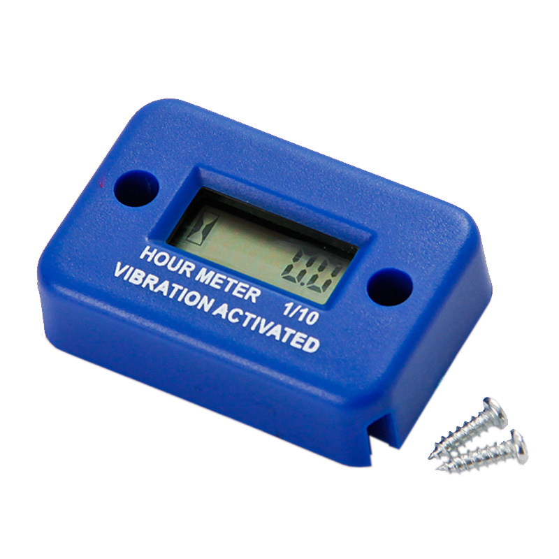 RL-HM016 Waterproof Vibration wireless hour meter for gas diesel engine and electric motor lawn mower chain saw tractor truck(China (Mainland))