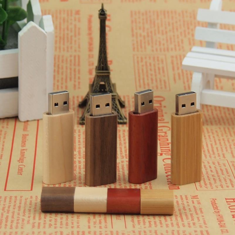 Wooden personality creative gift customized wood USB flash drive u disk USB2.0 flash drive 4G 8GB 16GB 32GB 64GB(China (Mainland))
