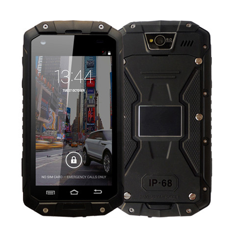 "Original 4.5"" IPS GUOPHONE V9 IP68 Rugged Waterproof Cell Phone MTK6572 Android 4.4 854X480 512MB RAM 4GB ROM WCDMA 3G in Stock(China (Mainland))"