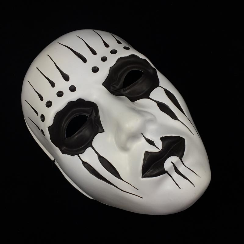 Slipknot Joey Masks Cosplay Scary White Mask Adult Fancy Costume Party Masquerade Halloween Props TAOS - Caly Tao's store
