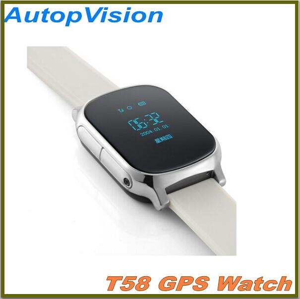 GPS tracker watch for kids child Ederly gps bracelet google map sos button gps bracelet personal tracker gsm gps locator(China (Mainland))