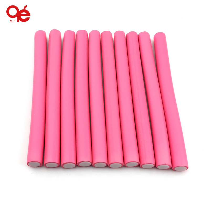 free shipping 2cm width 10pieces/lot hair curling flexi rods magic air hair roller curlerbendy magic styling hair sticks(China (Mainland))