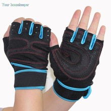 Hot Sell Multifunction Fitness Sport Gloves Protect Wrist Anti skid Half Finger Gloves Weightlifting Exercise Gloves
