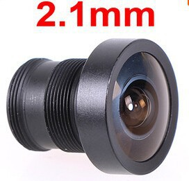 (3 pieces/lot) Mini 2.1mm 150 Degree CCTV Lens Fish Eye Wide Angle M12 LENS For CCTV Camera (QK store)(China (Mainland))