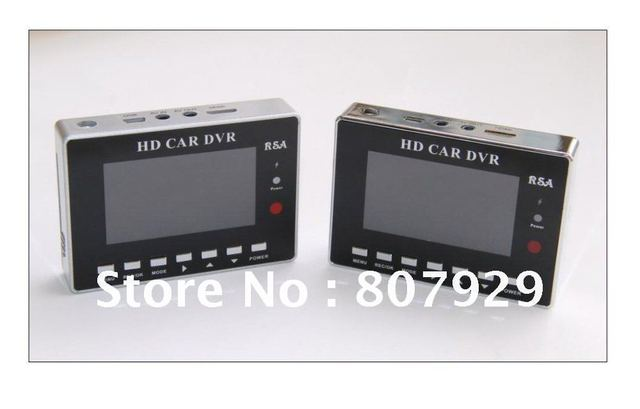 """2.7""""16:9 HD 960*240 TFT motion detection video CCTV D1 DVR, two channel recording simultaneously, PIP diaplay ,remote control"""