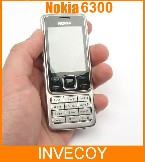 6300 original nokia 6300 bar cell phone 2MP Camera bluetooth MP4 freeshipping(China (Mainland))
