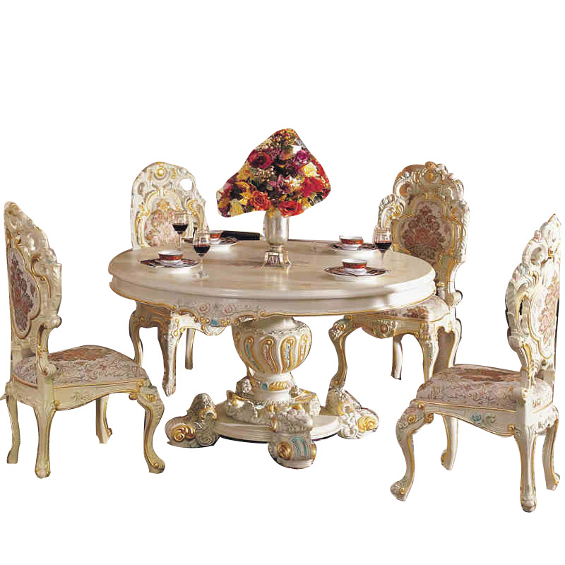 French classical ltalian baroque carved wood furniture - Set de table baroque ...