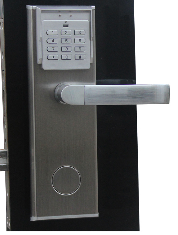 free shipping security digital electronic keypad and password door lock with deadbolt in locks. Black Bedroom Furniture Sets. Home Design Ideas