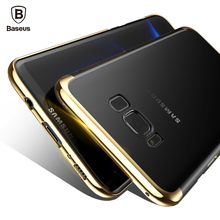 Baseus Luxury Case For Samsung Galaxy S8 / S8 Plus Electroplating Hard PC Coque Protective Back Cover For Galaxy S8 Plus(China (Mainland))