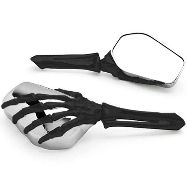 Здесь можно купить  Skeleton Skull Hand Motorcycle Mirrors For Honda Gold Wing Goldwing 1200 1500 1800  Автомобили и Мотоциклы