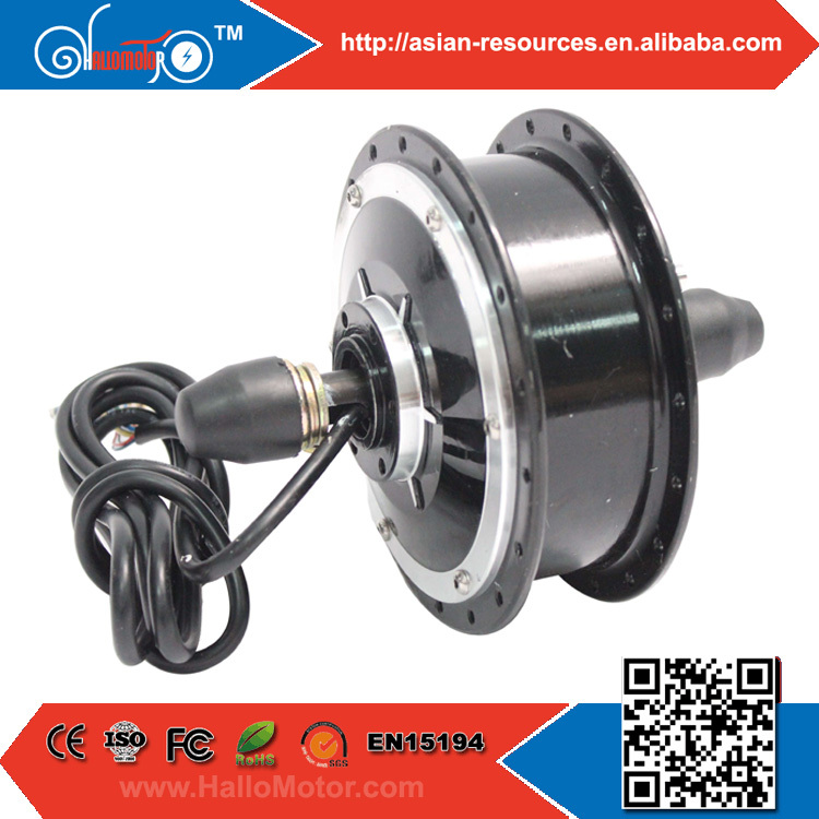 Фотография Wholesale New 24V 250W Electric Bicycle Ebike Brushless Gearless Mini Hub Motor Front Wheel Motor Support Disc Brake