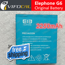 Elephone G6 battery In Stock 100% Original 2250mAh MTK6592 5.0'' Smart Mobile Android Phone + Free Shipping - In Stock(China (Mainland))