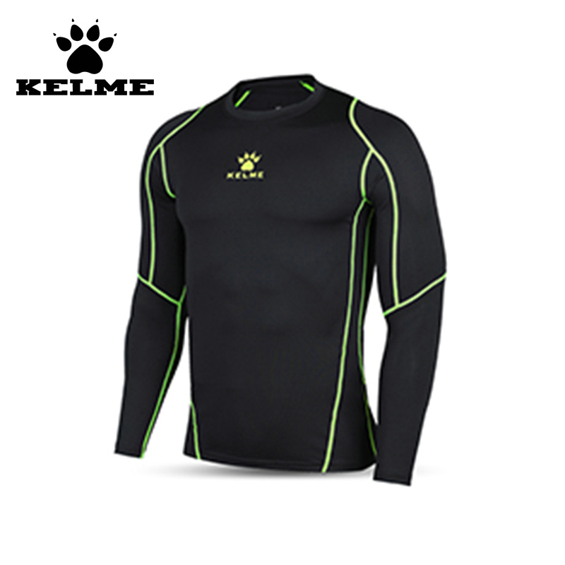 KELM Mens Running Cycling Tight Sportswear Football Jersey Sport Long Sleeve Breathable Quick-Dry Base Layer Compression Shirt28(China (Mainland))