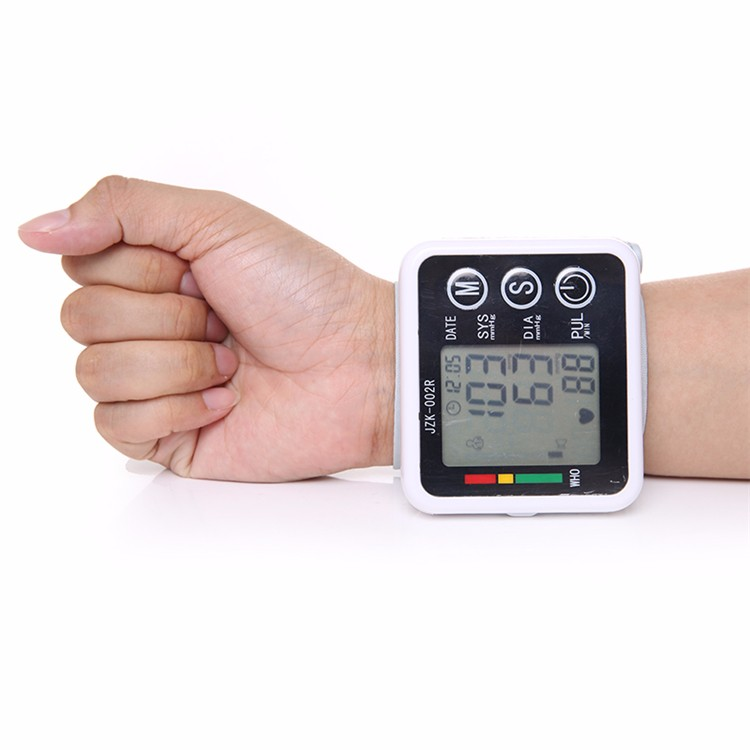 New Health Care Germany Chip Automatic Wrist Digital Blood Pressure Monitor Tonometer Meter for Measuring And Pulse Rate JZK-002 cheap