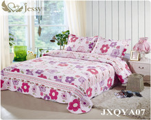 Jessy Casa 3-piece Reversibile Copriletto/letto/Copriletto/Trapunta Set-OverSize-Reale patchwork (re)(China (Mainland))