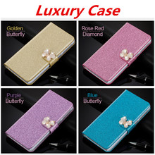 "Buy Flip Glitter Case Lenovo Vibe K5 Note A7020 K52t38 A7020a40 A7020a48 5.5"" PU Leather Cover Card Slot Wallet Pouch Phone Bag for $4.13 in AliExpress store"