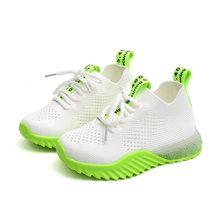 נעליים מזדמנים ילדי נעלי ספורט עור אופנה ספורט ילדים סניקרס 2019 אביב סתיו ילדי נעליים(China)
