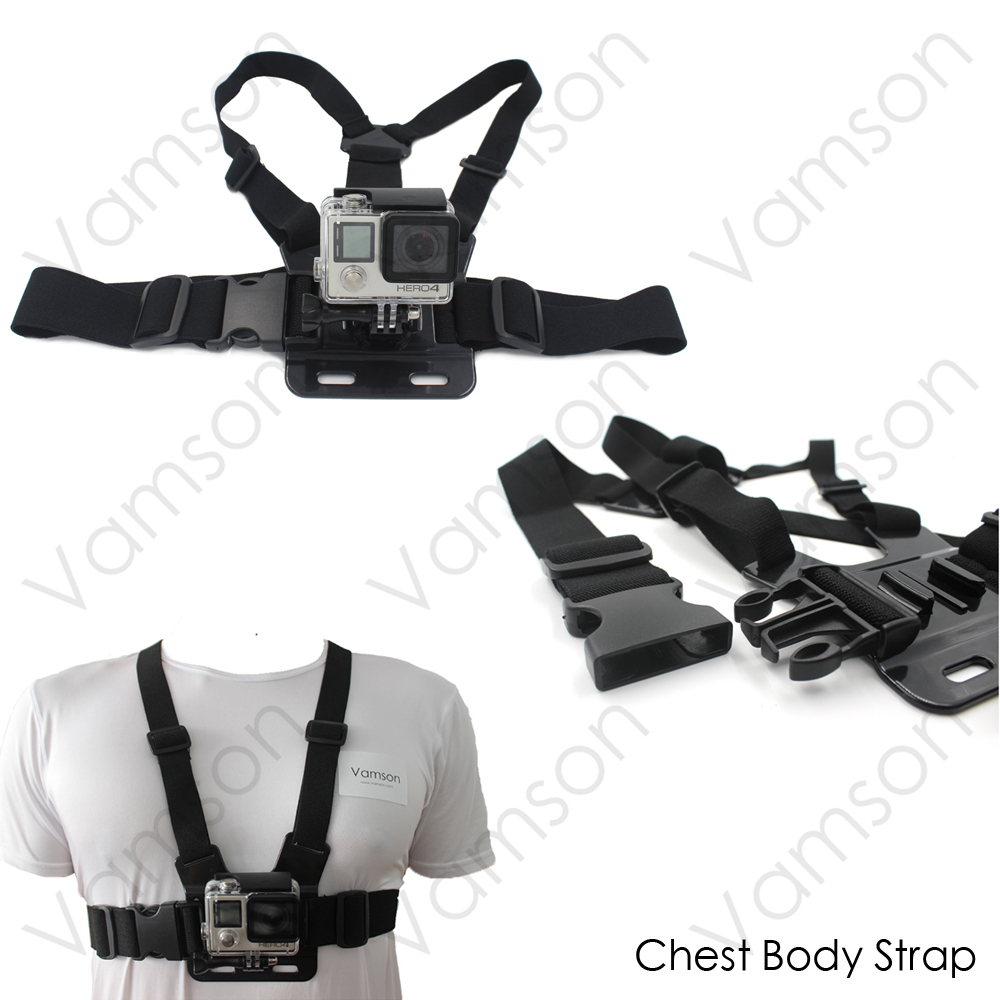 Action Camera 360 Degree Wrist Band Wrench Chest Strap With Screw For Xiaomi Yi Gopro Hero 5 4 3+ SJCAM SJ4000 VS53
